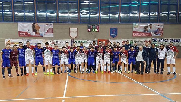 SERIE B. Futsal Champagne alla Toffetti: una serata da ricordare con il Kaos di Serie A!